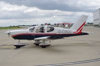 G-CBGC @ EGSH - Parked at Norwich. - by Graham Reeve