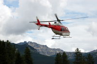 C-GALG - CMH Heli-Skiing Bell 407 Helicopter C-GALG Alpine at Lake Louise, Alberta, Canada   - by scotch-canadian
