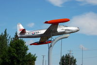 21616 - Canadair T-33 at the Bomber Command Museum of Canada - Nanton, Alberta, Canada - by scotch-canadian