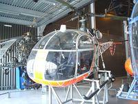 F-ZLAS - Sud-Aviation SE.3130 Alouette II at the Musee de l'Air, Paris/Le Bourget - by Ingo Warnecke