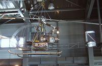 F-WGVD - Sud Aviation SO.1220 Djinn at the Musee de l'Air, Paris/Le Bourget - by Ingo Warnecke