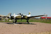 56-3708 @ RCA - 1957 Beechcraft L-23D at the South Dakota Air and Space Museum, Box Elder, SD - by scotch-canadian