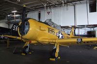 91091 - North American SNJ-5 Texan in the Hangar of the USS Midway Museum, San Diego CA - by Ingo Warnecke