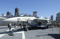158978 - Grumman F-14A Tomcat on the flight deck of the USS Midway Museum, San Diego CA - by Ingo Warnecke
