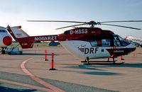 D-HSSS @ EKRK - Roskilde Air Show Denmark 23.8.09 To OY-HLT 16.6.10 Falck DRF luftambulance - by leo larsen