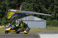 N815AH @ 3W5 - Departing the fly-in - by Duncan Kirk