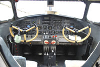 CF-TCC @ CYWG - Cockpit View of Lockheed 10A Electra 