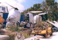 5T-TAF - Engines from the destroyed Connie at the Malta Aviation Museum. The plane was used as a Bar & Snack restaurant. - by Henk Geerlings