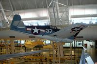 41834 @ IAD - Grumman F6F-3K Hellcat at the Steven F. Udvar-Hazy Center, Smithsonian National Air and Space Museum, Chantilly, VA - by scotch-canadian