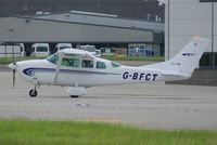G-BFCT @ EGSH - About to depart. - by Graham Reeve
