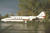 OE-GRR @ LOWW - Learjet 55