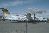 OE-LTD @ LOWW - Tyrolean Airways Dash 8-300