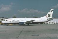G-DOCM @ LOWW - British Airways Boeing 737-400