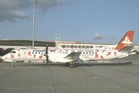 HB-IYD @ LOWW - Crossair Saab 2000