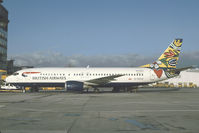 G-DOCE @ LOWW - British Airways Boeing 737-400