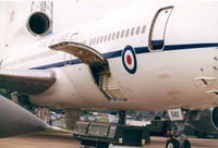 ZD949 - RAF , TriStar Tanker, fuel container  RAF Cottesmore air show July 2001 - by Henk Geerlings