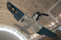 50375 @ IAD - Chance Vought F4U-1A Corsair at the Steven F. Udvar-Hazy Center, Smithsonian National Air and Space Museum, Chantilly, VA - by scotch-canadian