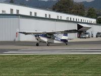 N519AC @ SZP - 2000 American Champion 7GCBC EXPLORER, Lycoming O-320 150 Hp, taking the active - by Doug Robertson