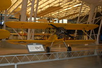 6064 @ IAD - Boeing-Stearman N2S-5 Kaydet at the Steven F. Udvar-Hazy Center, Smithsonian National Air and Space Museum, Chantilly, VA - by scotch-canadian