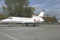 VP-BMF @ LOWW - Falcon 50