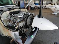F-GVLS @ LFCS - un des rares moteurs diésel Renault SMA - by Jean Goubet-FRENCHSKY