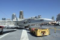 156641 - North American RA-5C Vigilante on the flight deck of the USS Midway Museum, San Diego CA - by Ingo Warnecke