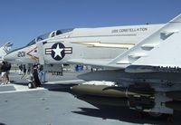 153880 - McDonnell Douglas F-4S Phantom II on the flight deck of the USS Midway Museum, San Diego CA - by Ingo Warnecke