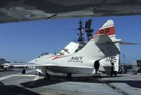 141702 - Grumman F9F-8P Cougar on the flight deck of the USS Midway Museum, San Diego CA - by Ingo Warnecke