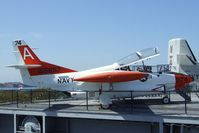 156697 - North American T-2C Buckeye on the flight deck of the USS Midway Museum, San Diego CA - by Ingo Warnecke