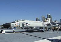 153030 - McDonnell Douglas F-4N Phantom II on the flight deck of the USS Midway Museum, San Diego CA - by Ingo Warnecke