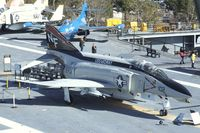 153030 - McDonnell Douglas F-4N Phantom II on the flight deck of the USS Midway Museum, San Diego CA - by Ingo Warnecke