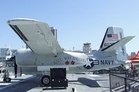 146036 - Grumman C-1A Trader on the flight deck of the USS Midway Museum, San Diego CA - by Ingo Warnecke