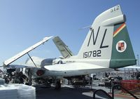 151782 - Grumman A-6A Intruder on the flight deck of the USS Midway Museum, San Diego CA - by Ingo Warnecke