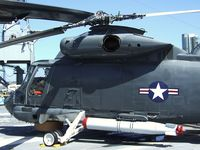 150157 - Kaman SH-2F Seasprite (originally built as HU2K-1U/UH-2B) on the flight deck of the USS Midway Museum, San Diego CA