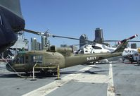 60-3614 - Bell UH-1B Iroquois on the flight deck of the USS Midway Museum, San Diego CA