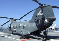 150954 - Boeing-Vertol HH-46D Sea Knight on the flight deck of the USS Midway Museum, San Diego CA