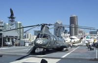 150954 - Boeing-Vertol HH-46D Sea Knight on the flight deck of the USS Midway Museum, San Diego CA - by Ingo Warnecke