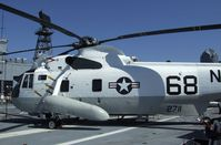 149711 - Sikorsky SH-3H (originally built as SH-3A) Sea King on the flight deck of the USS Midway Museum, San Diego CA