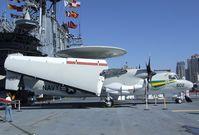 161227 - Grumman E-2C Hawkeye on the flight deck of the USS Midway Museum, San Diego CA