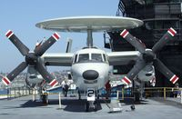 161227 - Grumman E-2C Hawkeye on the flight deck of the USS Midway Museum, San Diego CA - by Ingo Warnecke