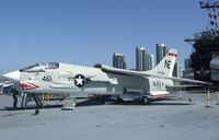 147030 - Vought F-8K Crusader on the flight deck of the USS Midway Museum, San Diego CA - by Ingo Warnecke