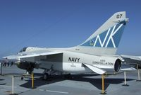 154370 - LTV A-7B Corsair II on the flight deck of the USS Midway Museum, San Diego CA