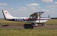 D-EKKO @ LFGI - Darois airfield, France - by olivier Cortot