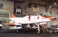 158469 @ NPA - TA-4J Skyhawk of Training Squadron VT-86 undergoing maintenance at NAS Pensacola in November 1979. - by Peter Nicholson