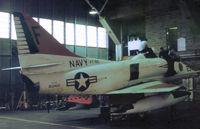 153462 @ NPA - TA-4J Skyhawk of Training Squadron VT-86 undergoing maintenance at NAS Pensacola in November 1979. - by Peter Nicholson