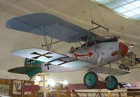 N3767A - Antique Aero Ltd ALBATROS D V replica at the San Diego Air & Space Museum, San Diego CA