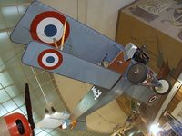 N1486 - Addems-pfeifer NIEUPORT 11 replica at the San Diego Air & Space Museum, San Diego CA