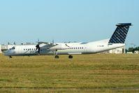 C-GLQM @ CYOW - Departing Ottawa on rwy 25. - by Dirk Fierens