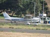N365ES @ POC - Landed on runway 26L and then taxied back and departed - by Helicopterfriend