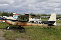 N4977D @ 95Z - This 1958 Cessna is looking rather ratty - by Duncan Kirk